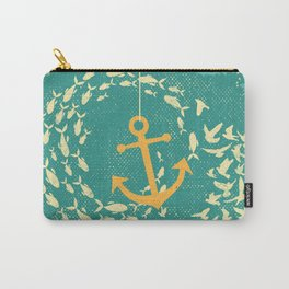 GOLDEN ANCHOR Carry-All Pouch