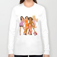 spice Long Sleeve T-shirts featuring Spice Girls by Greg21