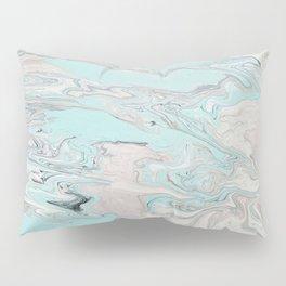 Marble - Mint Pillow Sham