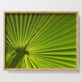 Palm Leaf Serving Tray