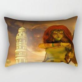 Defender Rectangular Pillow