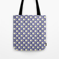 sun and moon Tote Bags featuring Moon & Sun by Art Tree Designs