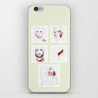 teen wolf iPhone & iPod Skins featuring Teen Wolf Blood by gentlederek