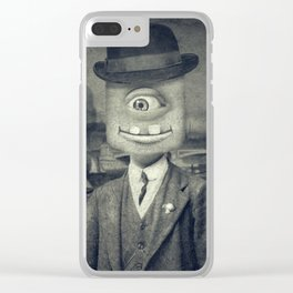 Sir MaComiX Clear iPhone Case