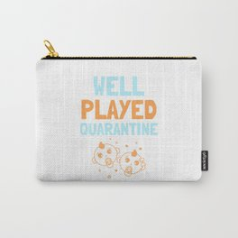 Baby Quarantine Funny Quote Carry-All Pouch