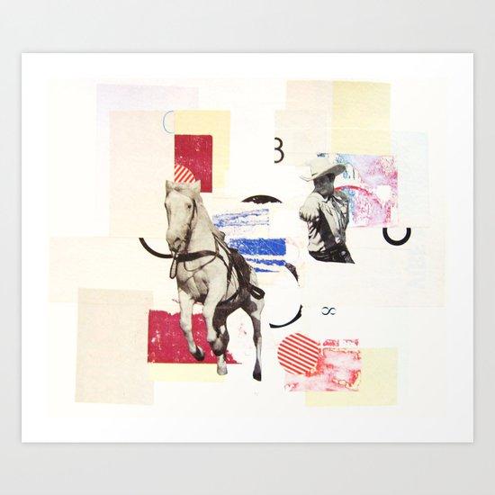 Horse Opera Art Print
