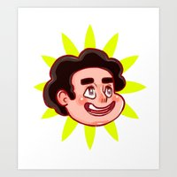 Steven! Art Print