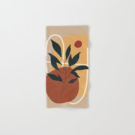 Abstract Shapes No.16 Hand & Bath Towel