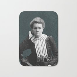 Young Marie Curie, 1903 Bath Mat
