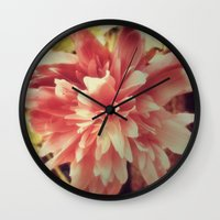 valentines Wall Clocks featuring Saint Valentines  by GypsyBohemian