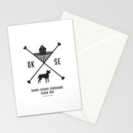 Since 1987 - black Stationery Cards