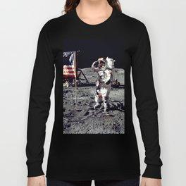 Salute on the Moon Long Sleeve T-shirt