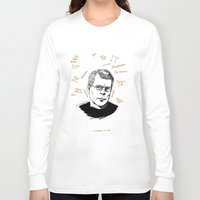 stephen king Long Sleeve T-shirts featuring Stephen King by darkscrybe
