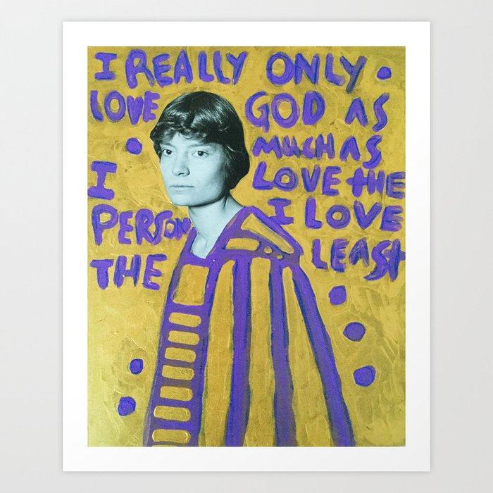 Dorothy Day Icon Kunstdrucke