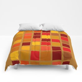 colored mosaic 02 Comforters
