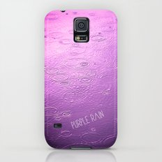 PURPLE RAIN Slim Case Galaxy S5