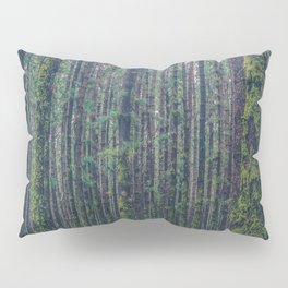 forest landscape photography tree background - trees vintage style Pillow Sham