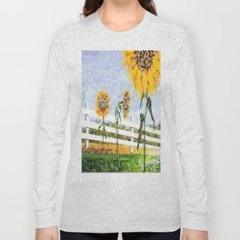 Sunflower Trio Long Sleeve T-shirt