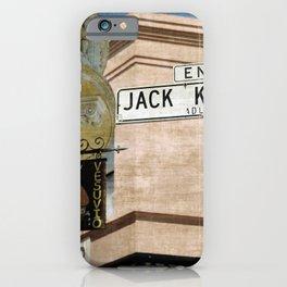 Jack Kerouac Alley and Vesuvio Pub iPhone Case