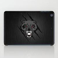 gondor iPad Cases featuring WOLF and ClAW by alexa