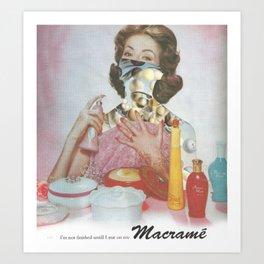 Macrame Mysticism Art Print