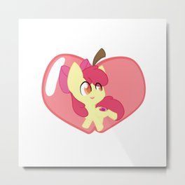 Chibi Applebloom Metal Print
