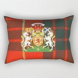 RED & GREEN CAMERON TARTAN ROYAL SCOTLAND Rectangular Pillow