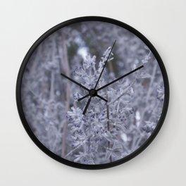 Desert Lavender Wall Clock