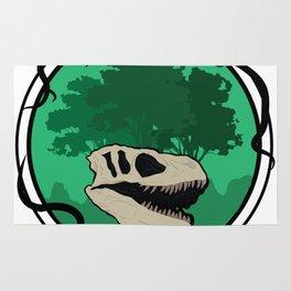Vegan T-Rex Dinosaur - Vegetarian Funny Rug