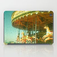 carousel iPad Cases featuring Carousel by Cassia Beck