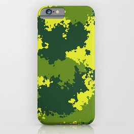 Camouflage jungle 2 iPhone Case
