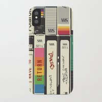 american psycho iPhone & iPod Cases featuring American Psycho by r054