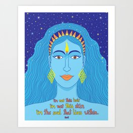 Soul Within Art Print