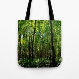 Green breeze Tote Bag