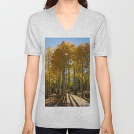 Autumn Blaze outside of Crested Butte, Colorado for #Society6 Unisex V-Neck
