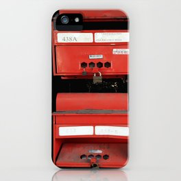 LETTERS iPhone Case