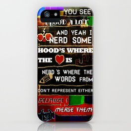 Nerd Some iPhone Case