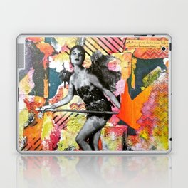 I Get By With a Little Help from Myself Laptop & iPad Skin
