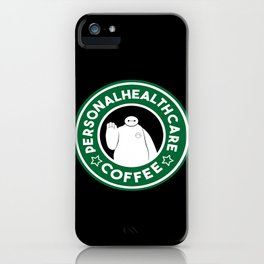 Personal Healthcare Coffee iPhone Case