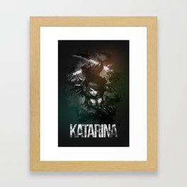 League of Legends Katarina Framed Art Print