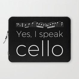 Yes, I speak cello Laptop Sleeve
