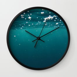 Submerged Wall Clock