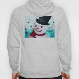 Snowman Christmas Art - Frosty - Holiday Artwork by Sharon Cummings Hoody