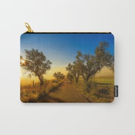 Misty road to the sun Carry-All Pouch