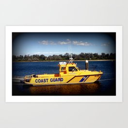 Coast Guard Art Print