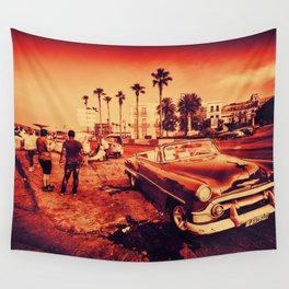 Havana Promenade Classic Wall Tapestry