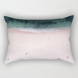 The purple umbrella Rectangular Pillow