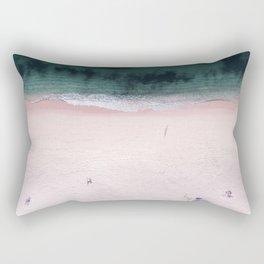 The purple umbrella Rectangular Pillow