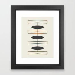 Mid-Century Modern 1.1 Framed Art Print