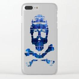 Bitter Poison Skulls: Ocean Clear iPhone Case